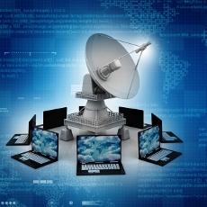 Le satellite pour l'entreprise