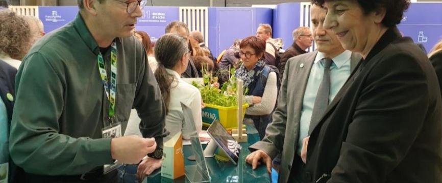 Le spatial accompagne la transformation du monde agricole