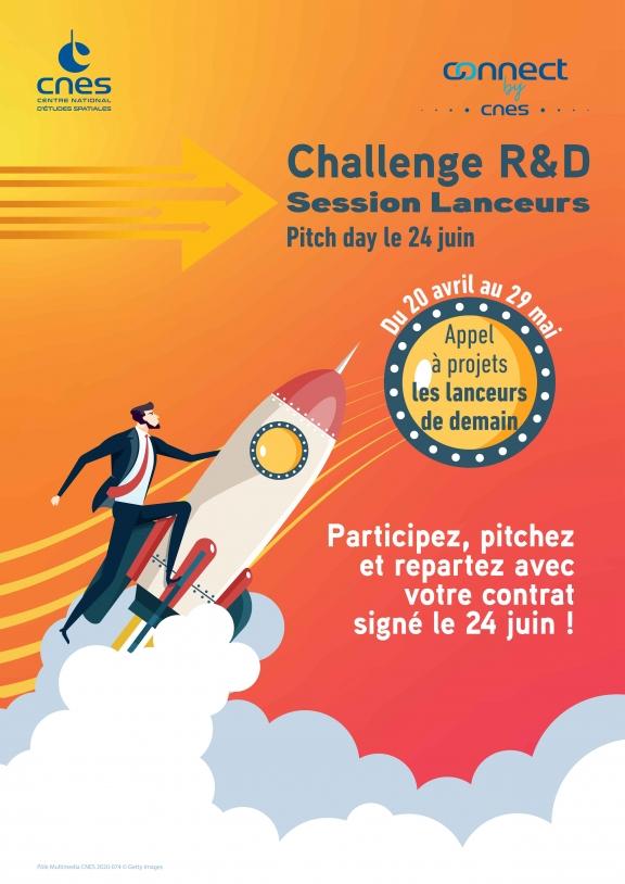 Affiche Challenge R&D Lanceurs 2020