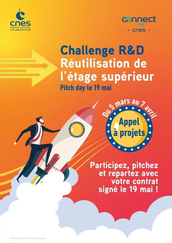 Challenge R&D réutilisation de l'étage supérieur