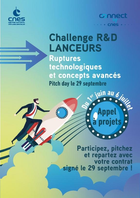 Challenge R&D « Ruptures technologiques et Concepts Avancés de systèmes de lancement »