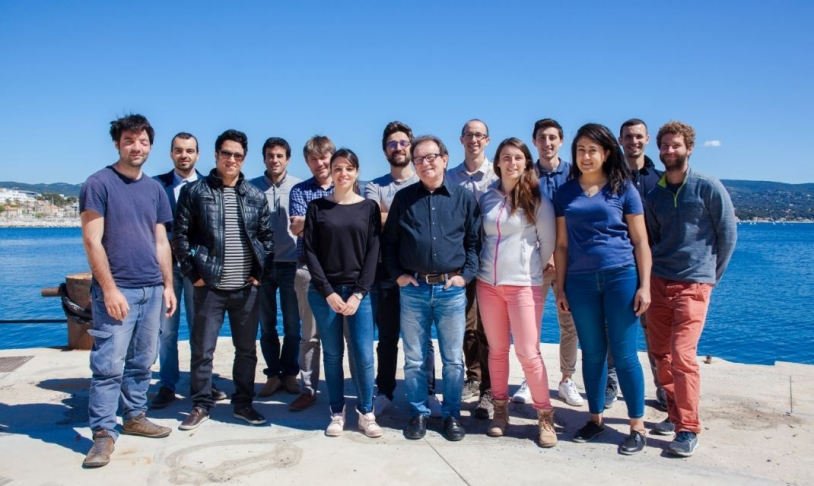 L'équipe de Pytheas Technology.
