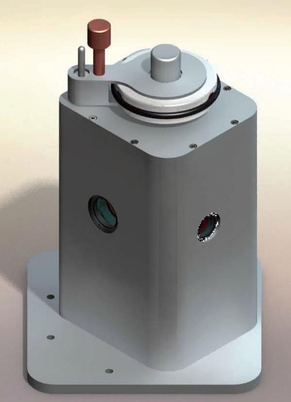Image 3D du porte échantillons