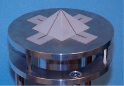 Antenne pyramidale multibande