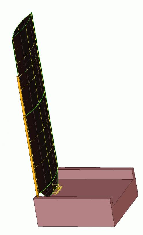 Structure déployée